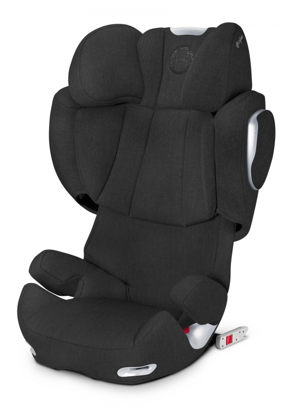 Автокресло Cybex Solution Q2-Fix Plus Happy Black