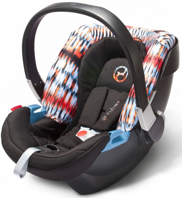Автокресло Cybex Aton 2 fashon citi light multicolour
