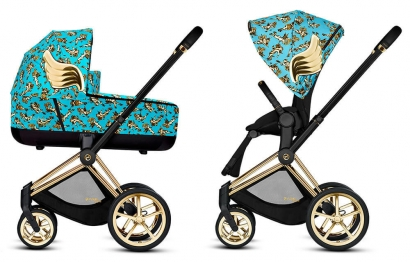 Коляска 2 в 1 Cybex Priam by Jeremy Scott Cherubs