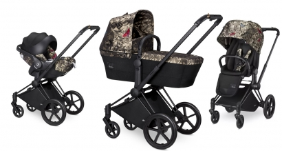 Коляска 3 в 1 Cybex Priam FE Butterfly