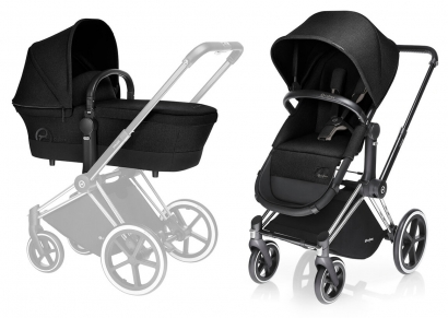 Детская коляска 2 в 1 Cybex Priam Light Seat (шасси All Terrain Matt Black)