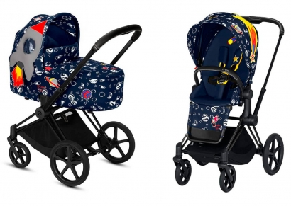 Коляска 2 в 1 Cybex Priam III Anna K Space Rocket