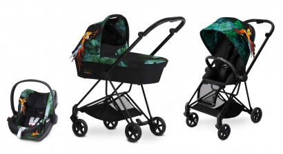 Коляска 3 в 1 Cybex Mios Birds of Paradise